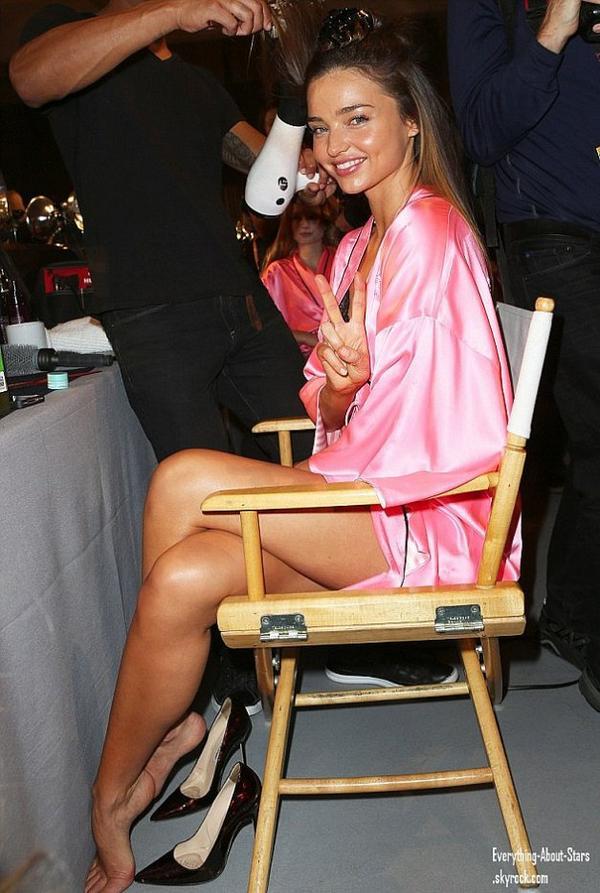 Victoria's Secret Fashion Show 2012: Photos Backstages des anges avant le show