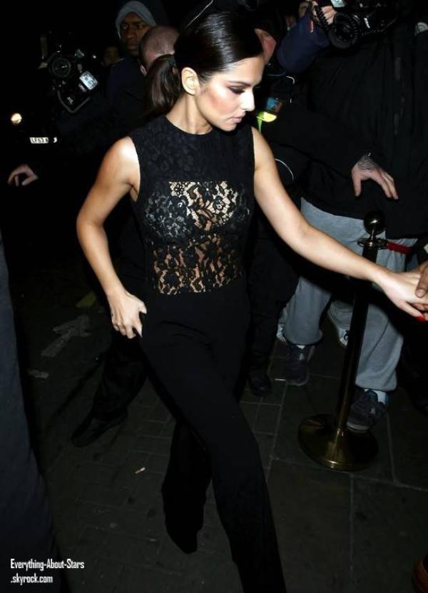 Cheryl Cole aperçue quittant le club Rose à Londres  le 8 Décembre 2012