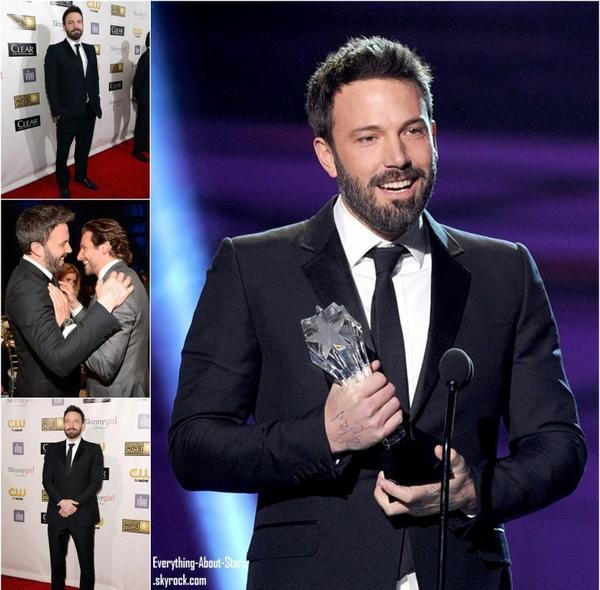 La cérémonie des Critics' Choice Awards 2013 à Santa Monica.   Le 10 Janvier 2013