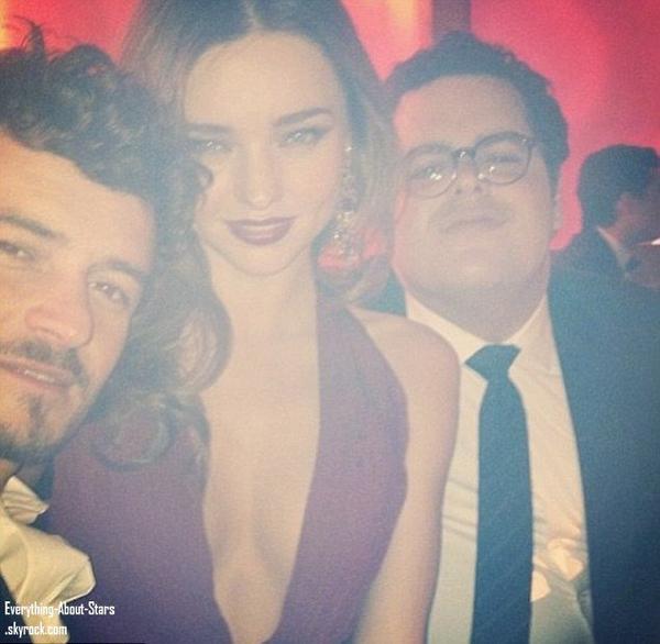Photos Twitter posté pendant les Golden Globes 2013: