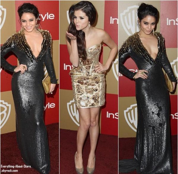 La Instyle and Warner Bros Golden Globe after-party des Golden Globes au Beverly Hilton Hôtel à Los Angeles :