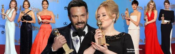 La 70e cérémonie des Golden Globes à Los Angeles: chaque année, la cérémonie des Golden Globes récompense les meilleurs films, les meilleures ½uvres de fiction télévisuelles et les meilleurs professionnels du cinéma et de la télévision, et donne le ton pour ce qu'il adviendra lors de l'événement cinématographique le plus célèbre au monde.