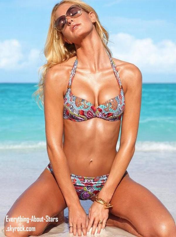Erin Heatherton en bikini pour la marque Victoria's Secret