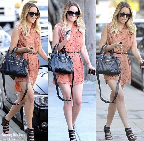 Lauren Conrad repérée à Los Angeles.   Le 17 Janvier 2013