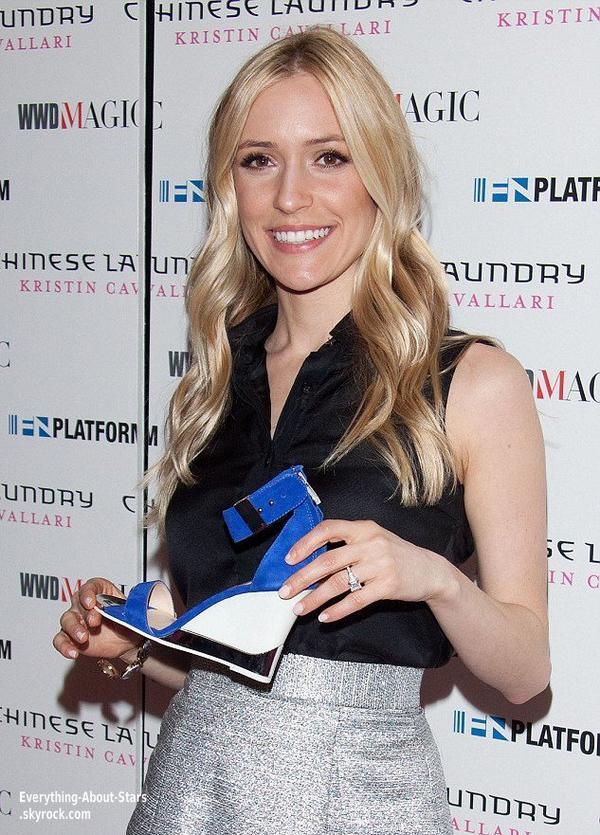 Kristen Cavallari a présenter sa nouvelle collection de chaussure à Las Vegas.   Le 20 Février 2013