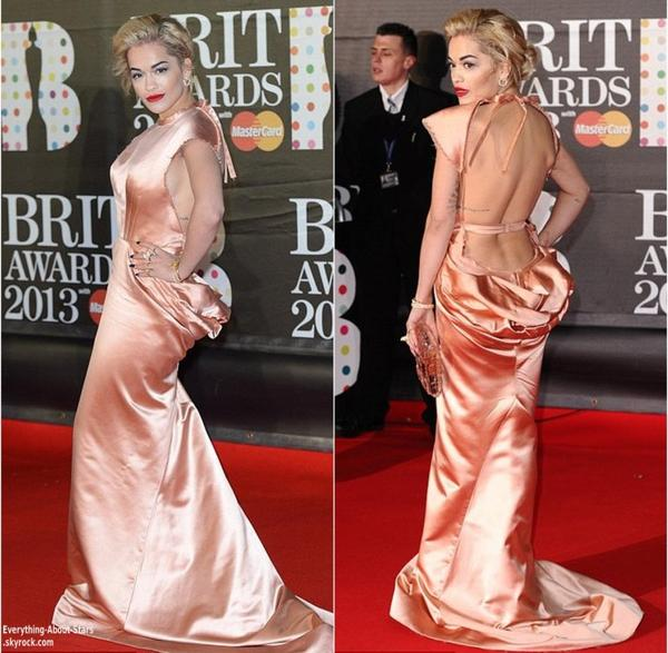 LES BRIT AWARDS 2013 :