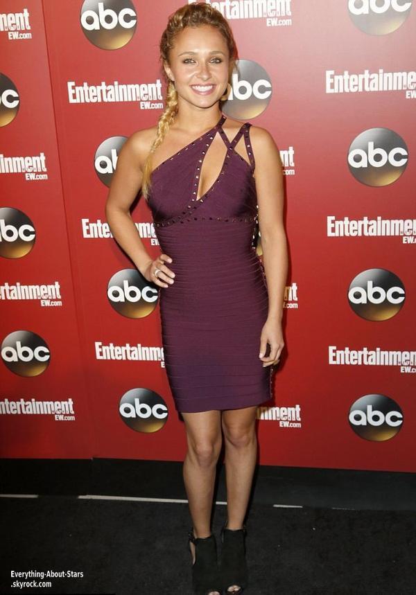 Hayden Panettiere été à une soirée VIP organisée par la chaîne ABC à New York  Le 14 Mai 2013