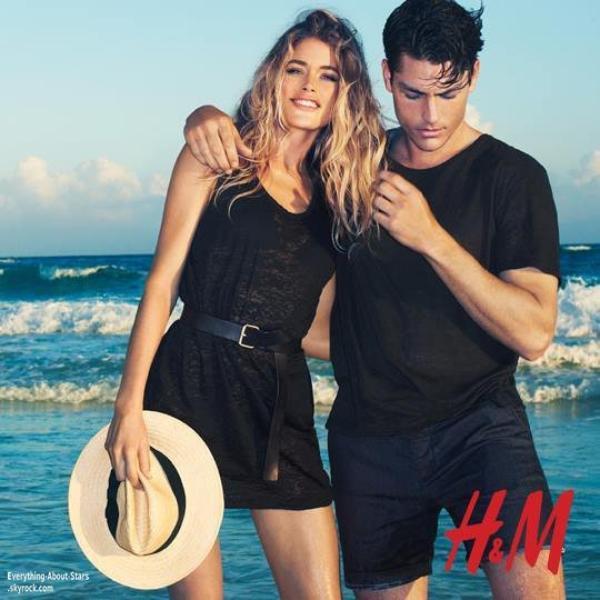 Aprés Beyoncé, c'est au tour de Doutzen Kroes d'être le nouveau visage de la marque H&M