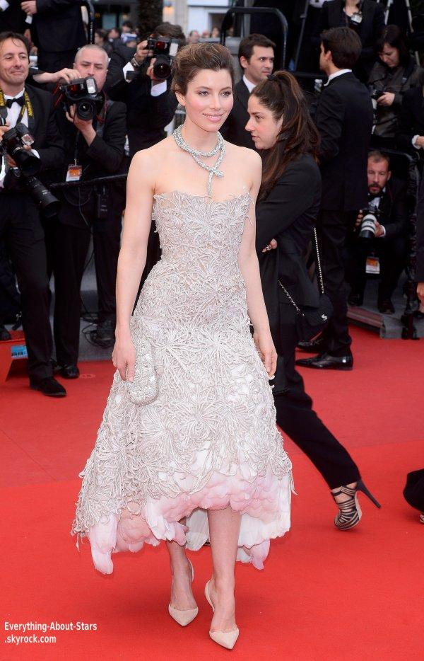 Justin Timberlake et sa femme Jessica Biel Timberlake ont montés les marches pour la première du film Inside Llewyn Davis  lors du Festival de Cannes  Le 19 Mai 2013