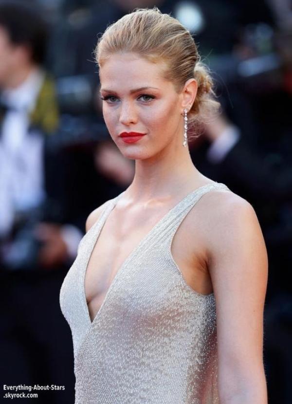 """Erin Heatherton a assisté à la première de """"Behind the Candelabra""""  pendant le Festival de Cannes   Le 23 Mai 2013"""