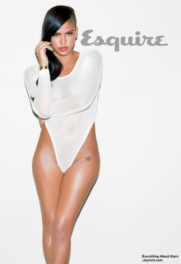 Cassie pose pour le magazine Esquire: