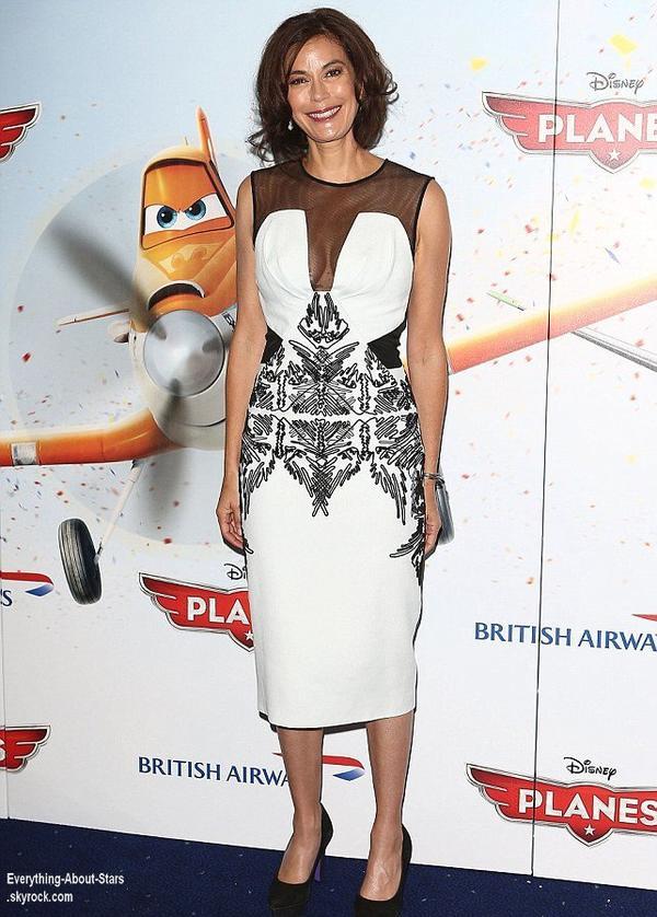 Teri Hatcher  s'est rendue à l'avant-première du nouveau film de Disney: Plane qui s'est tenue à Londres  Le 13 Juillet 2013