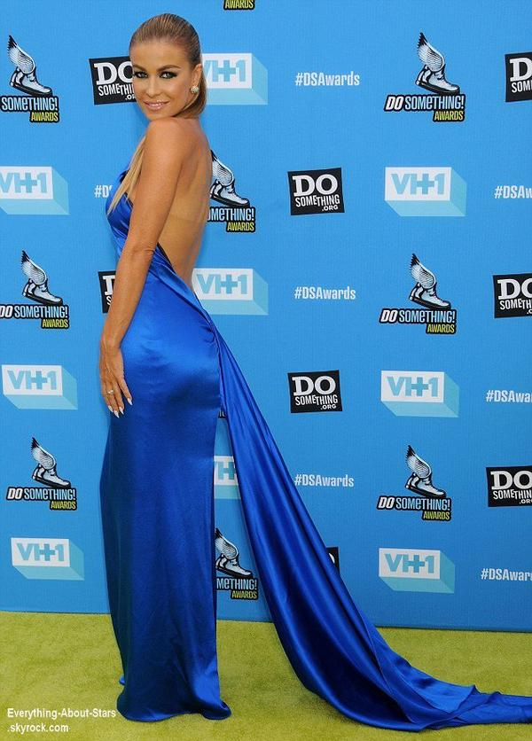 La sublime Carmen Electra sur le tapis des Do Something Awards 2013 à Hollywood  Le 31 Juillet 2013