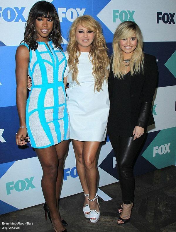 Demi Lovato, Kelly Rowland, Paulina Rubio, Zooey et Emily Deschanel ont participée à la soirée annuelle Fox Summer TCA All Star Party.  Le 1 Août 2013