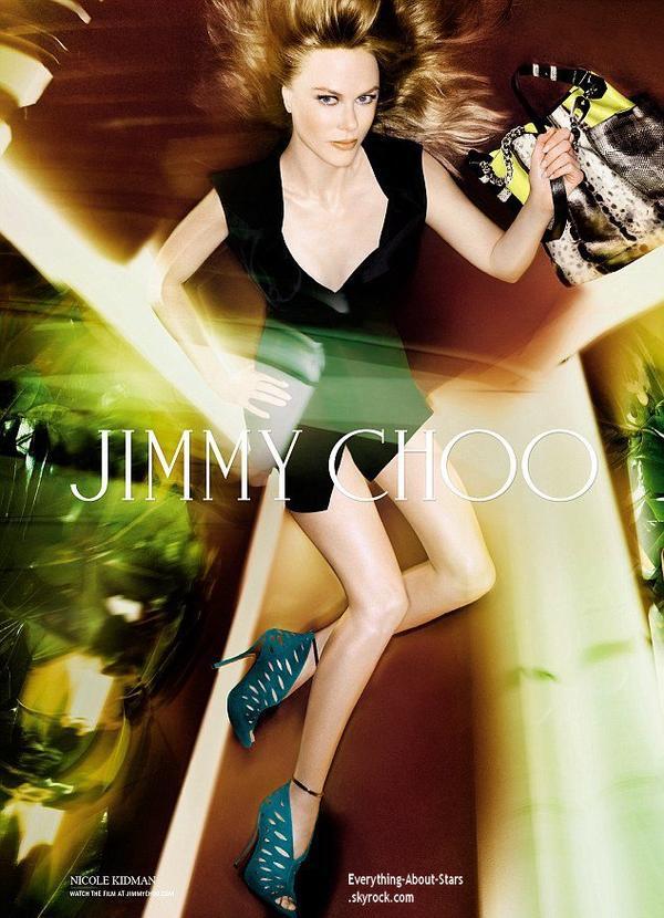 Nicole Kidman divinement sexy pour la nouvelle campagne Printemps-Été 2014 de la maison Jimmy Choo