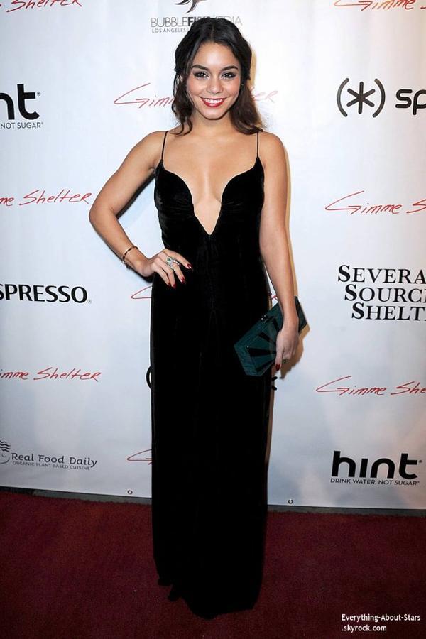 14/01/14: Vanessa Hudgens à la première de Gimmie Shelter à Hollywood
