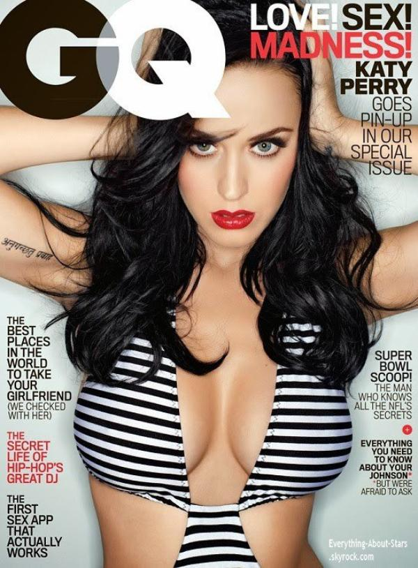 Katy Perry en couverture de GQ Magazine
