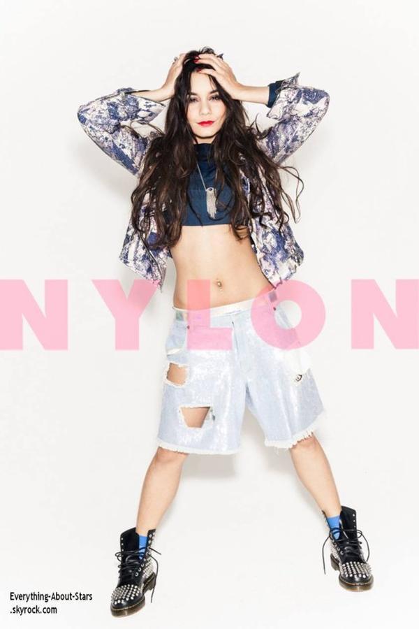 Découvrez un photoshoot de Vanessa Hudgens pour le magazine  NYLON