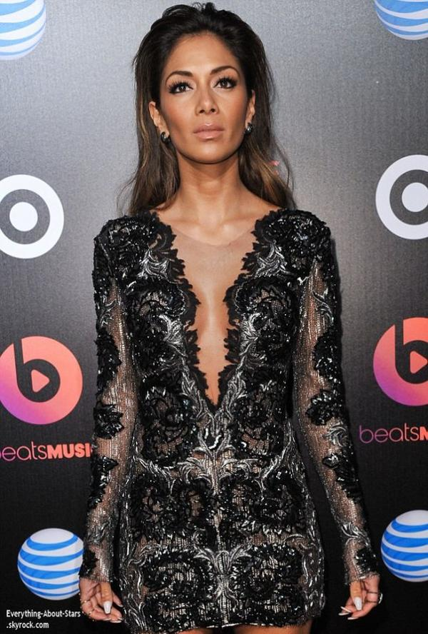 Pré Grammy Awards 2014:    Nicole Scherzinger à assisté à la soirée de lancement The Beats Music au Belasco Theatre à Los Angeles