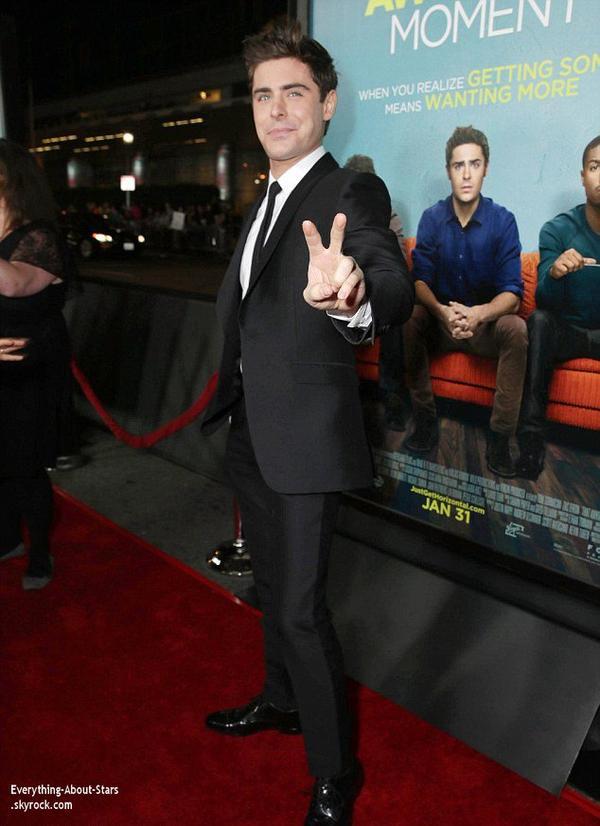 27/01/14: Zac Efron, Imogen Poots, Michael B-Jordan et Milles Teller  à l'avant-première de leur nouvelle comédie: That Akward Moment, organisée dans le quartier de Downtown Los Angeles