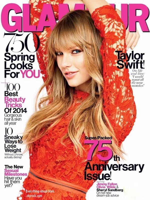 Taylor Swift en couverture de GLAMOUR