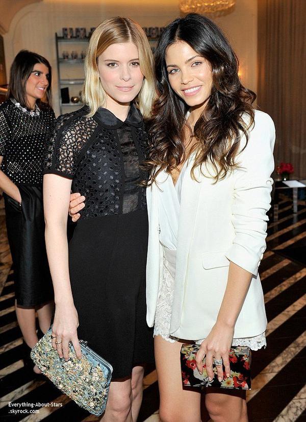 25/02/14: Jenna Dewan Tatum été invitée lors déjeuner très sélect organisé par la marque de cosmétiques Gemey Maybelline à West Hollywood