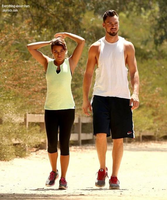 FAUSSE RUMEUR    Lea Michele n'est pas enceinte !!