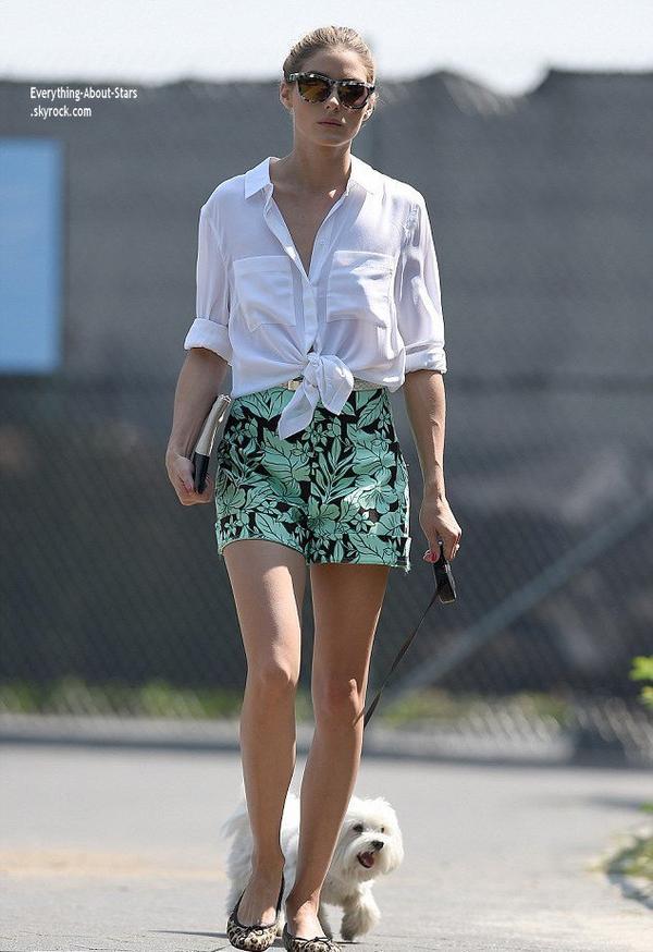Zoom sur la tenue de : Olivia Palermo   Qu'en pensez-vous ?