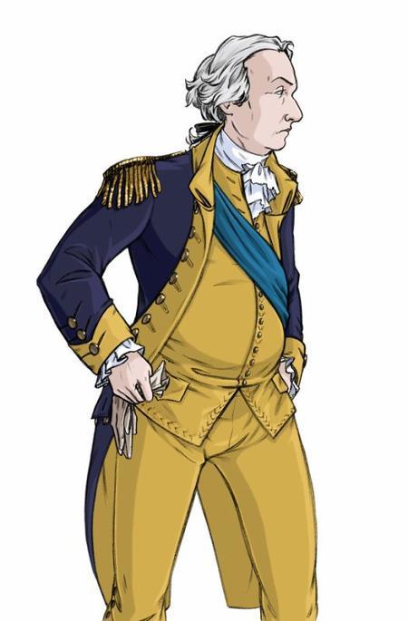 George Washington, premier président des États-Unis