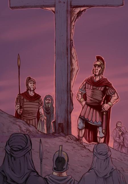 Longinus, un centurion chrétien ?