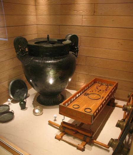 La Dame de Vix, ou la preuve d'une société gauloise organisée dès le VIe siècle avant J.-C.