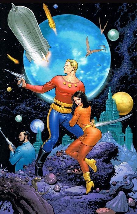"Flash Gordon, le ""roi de l'impossible"""