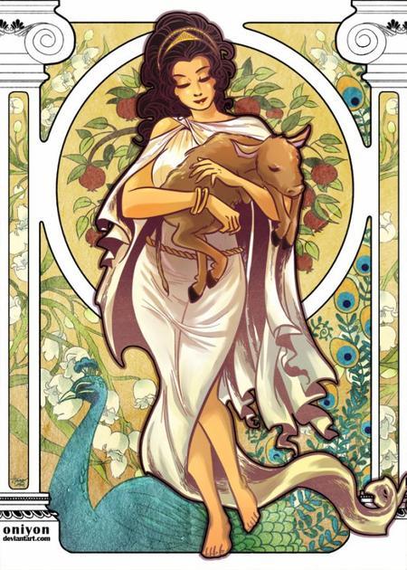 Héra, le symbole du mariage et de la maternité