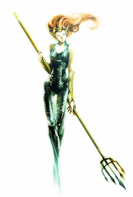 Mera, la reine d'Atlantis