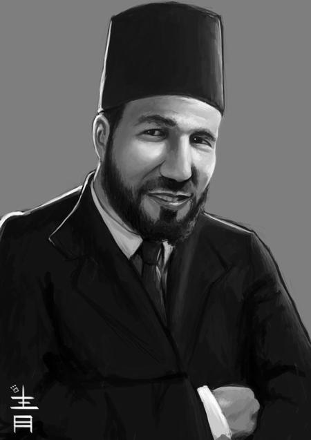 Hassan al-Banna, le fondateur des Frères musulmans