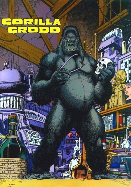 Gorilla Grodd, le gorille conquérant
