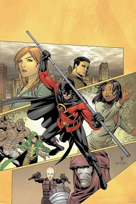 Tim Drake, un personnage différent des autres membres de la Batman family