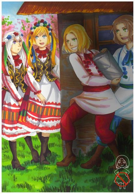 Smigus-dyngus, le lundi de Pâques polonais