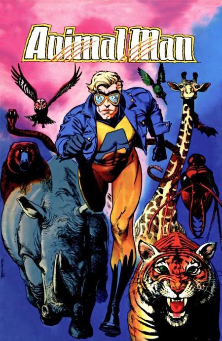 Animal Man, un super héros au service de la cause animale très porté sur la famille