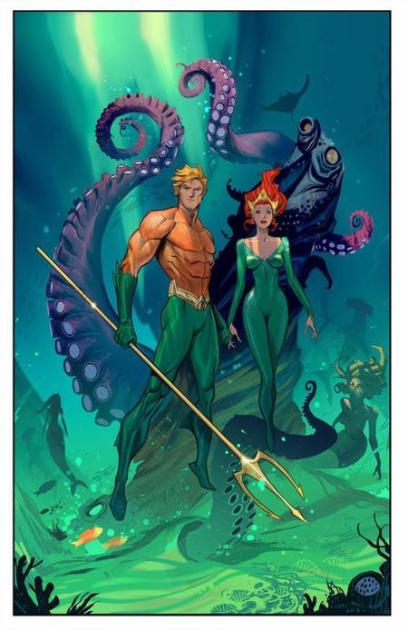 Aquaman, le roi d'Atlantis protecteur des océans