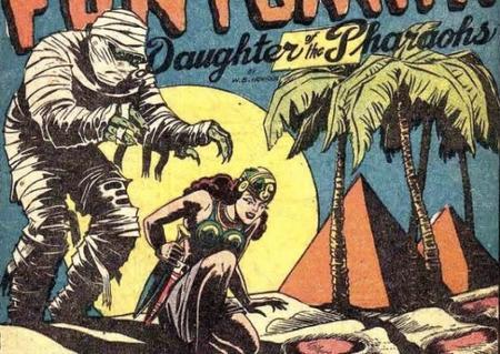 Fantomah, la protectrice de l'Afrique