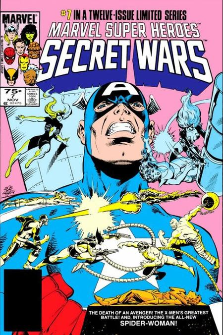 Secret Wars, le comics épique de Marvel