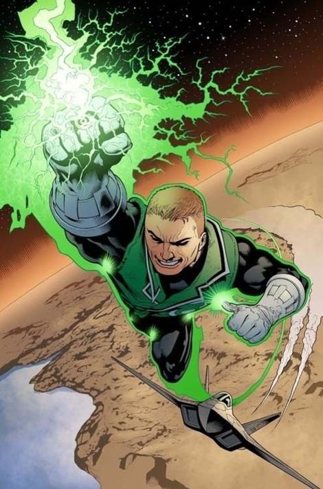 Guy Gardner, le Green Lantern impétueux