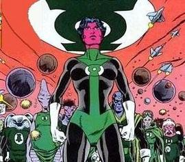 Katma Tui, la Green Lantern qui allie action et vie amoureuse