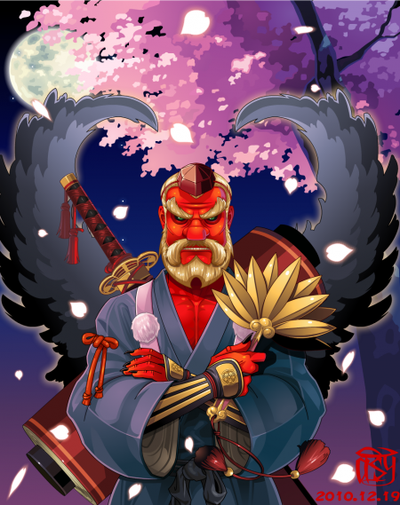 Les Tengu, des esprits guerriers farceurs et ascètes