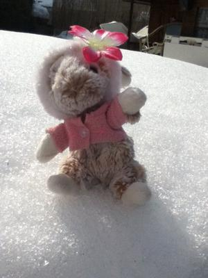Jeannot et Jeannette à la neige