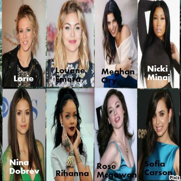 Candidates filles