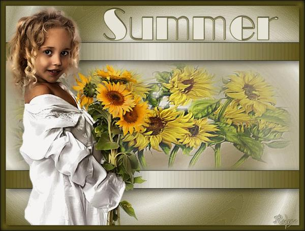 je vous souhaite a tous un bel été !!! profitez en !!!! bisous............prenez si vous aimez
