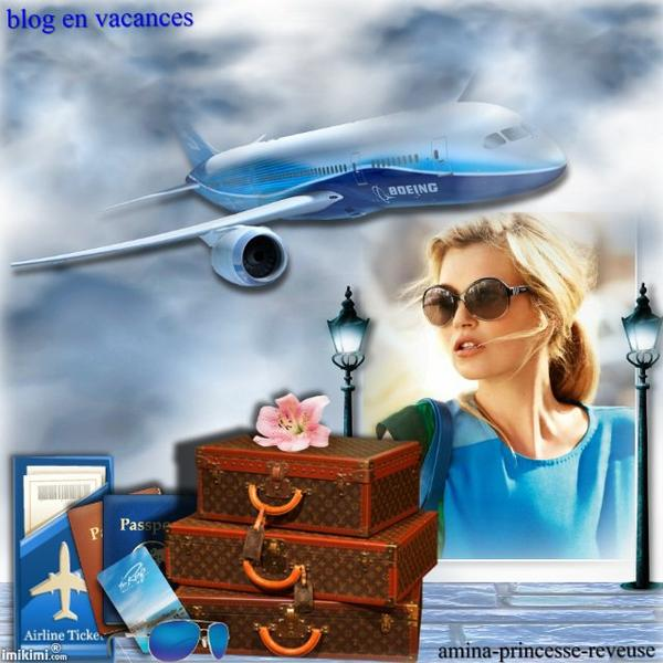 blog en vacances !!!! a bientot @mitié et bisous de vero...........prenez si vous aimez