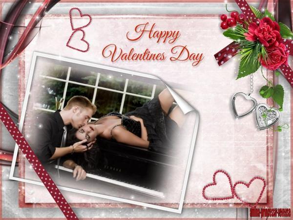 je vous souhaite a tous une joyeuse saint valentin , désolée de n etre passée aujourd hui je ne suis pas bien du tout .........c est cadeau pour tous mes amis , gros bisous